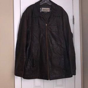 M JULIAN - WILSONS, Leather, Bomber Jacket.